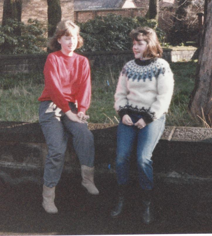 1980s Janet and Louise