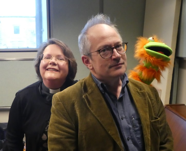 Picture with puppet